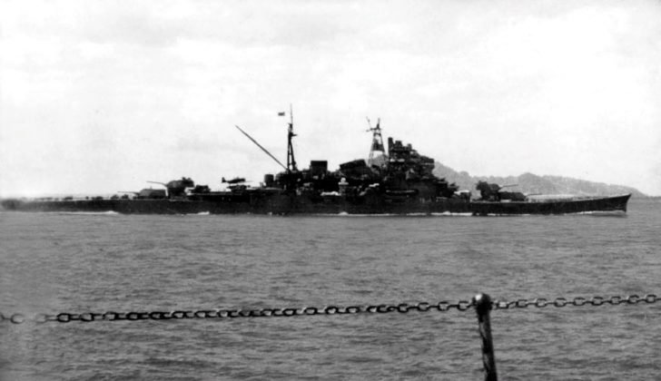 Japanese Maya cruiser