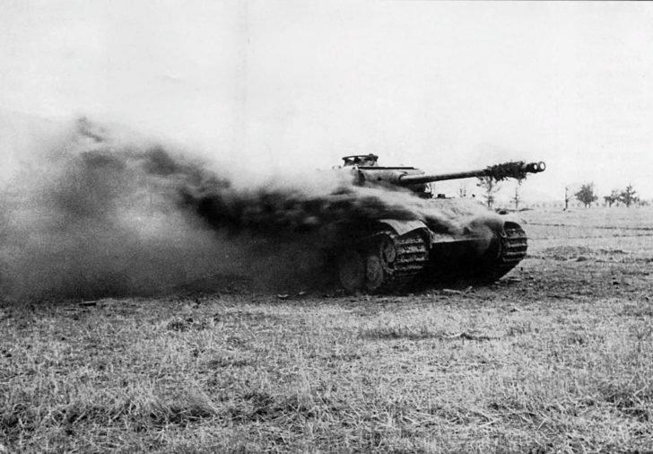 Panther tank