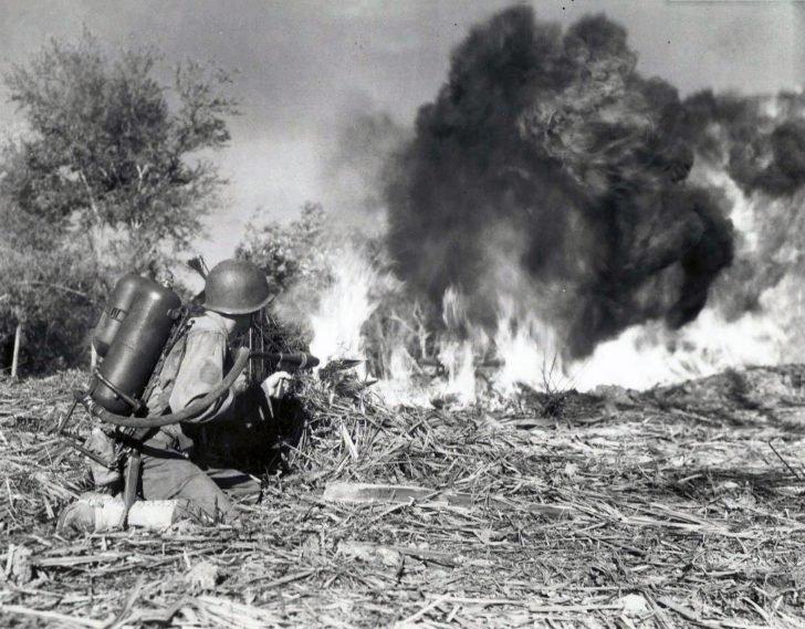 M-2 flamethrower