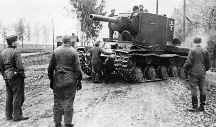 KV-2 in the Wehrmacht