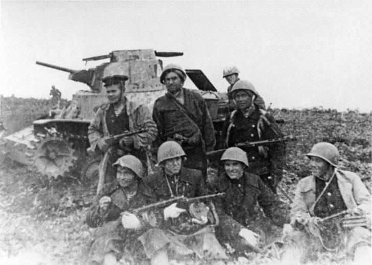 Soviet marines