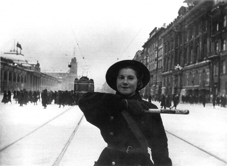 Policeman Anna Fedorova