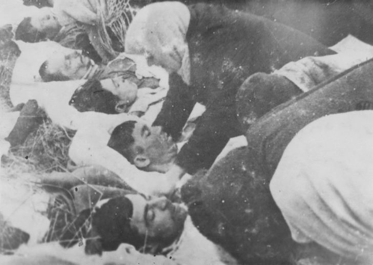 citizens shot by the Nazis