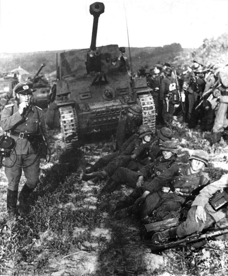 Marder III, Panzergrenadiers
