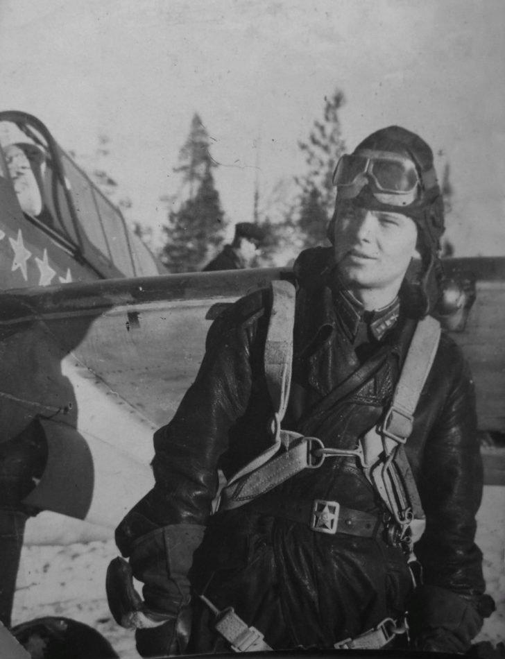 Pilot Alexei Nikolaenkov