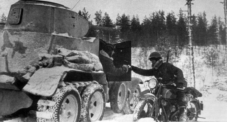 BA-10 armored car
