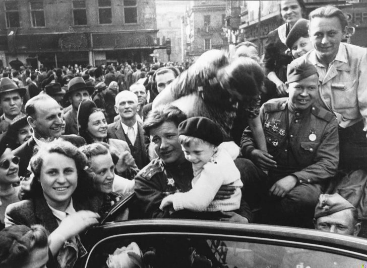 Prague residents