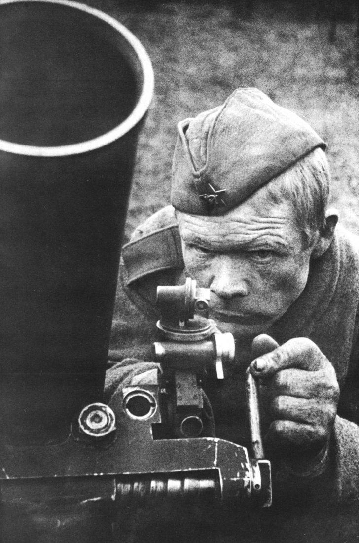 Mortarsman Nikolai Polikarpov