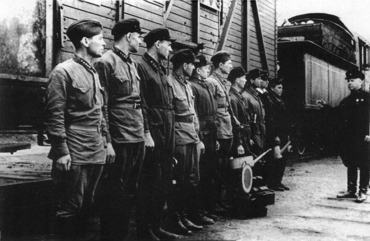 Locomotive team