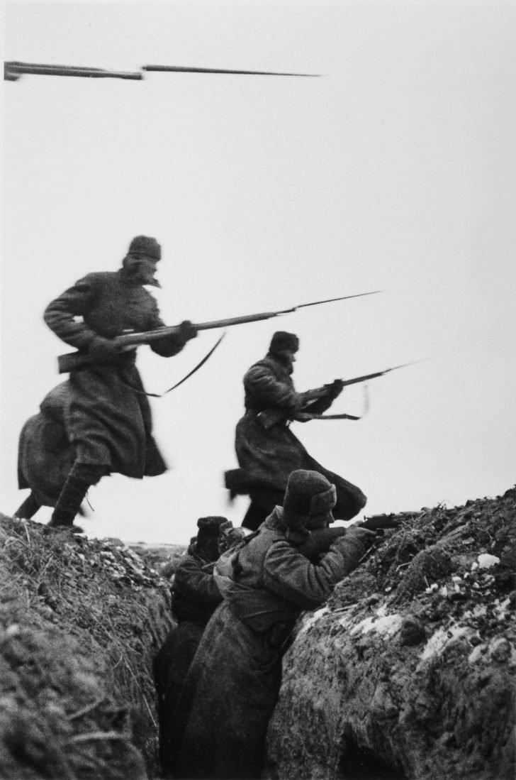 Bayonet attack