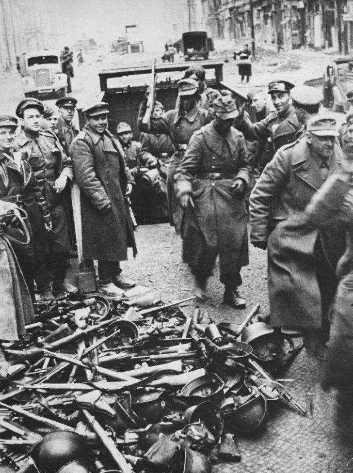 Wehrmacht surrender