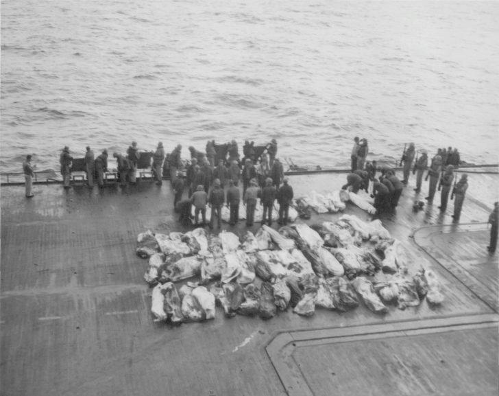 Funeral sailors