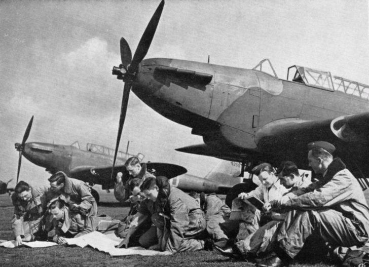 British bomber crews