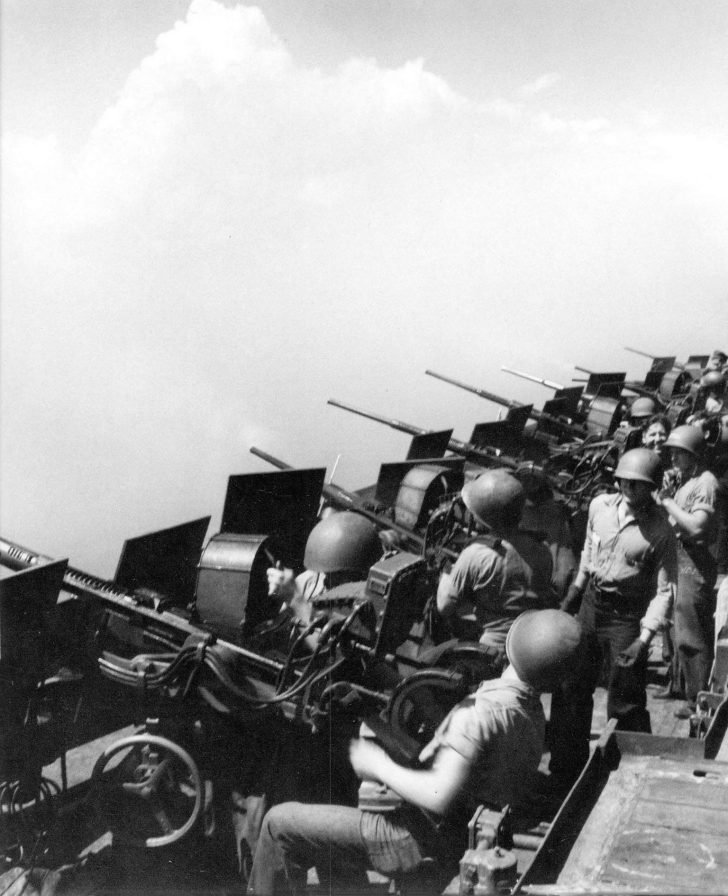 anti-aircraft guns Oerlikon