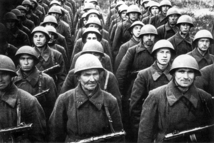 Soviet infantry unit