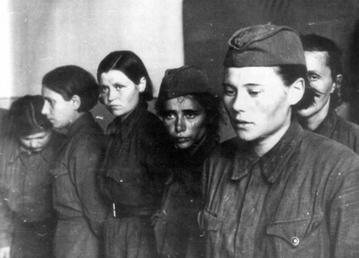female prisoners of war