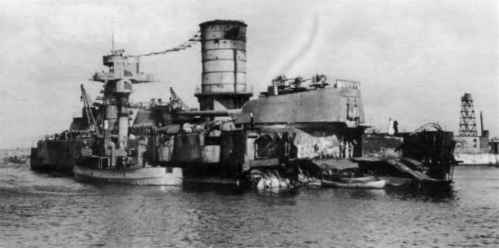 Marat battleship