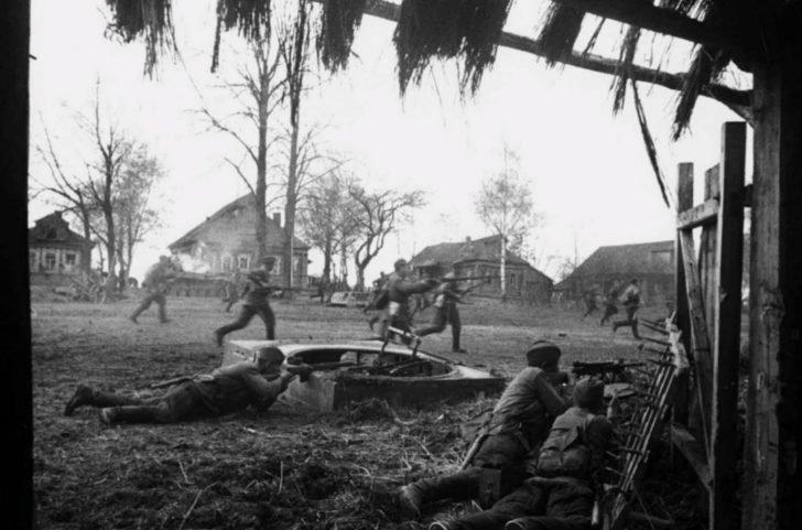 Soviet counterattack