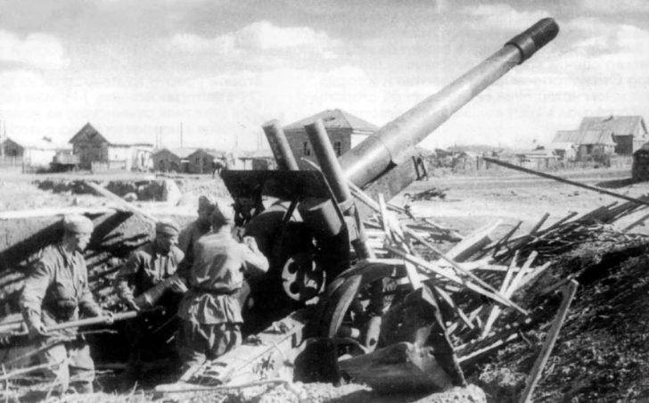 ML-20 howitzer-gun M1937
