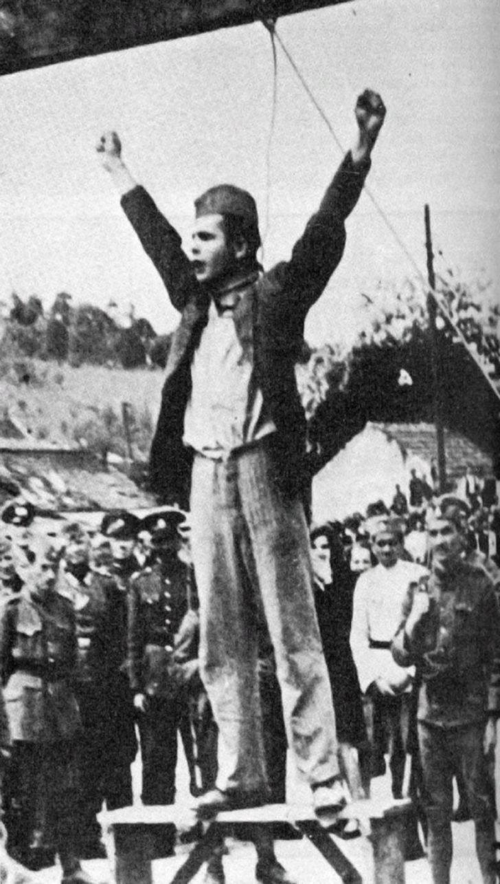 Yugoslav partisan Stjepan Filipović