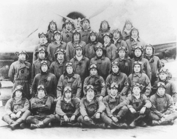 The crews of torpedo bombers