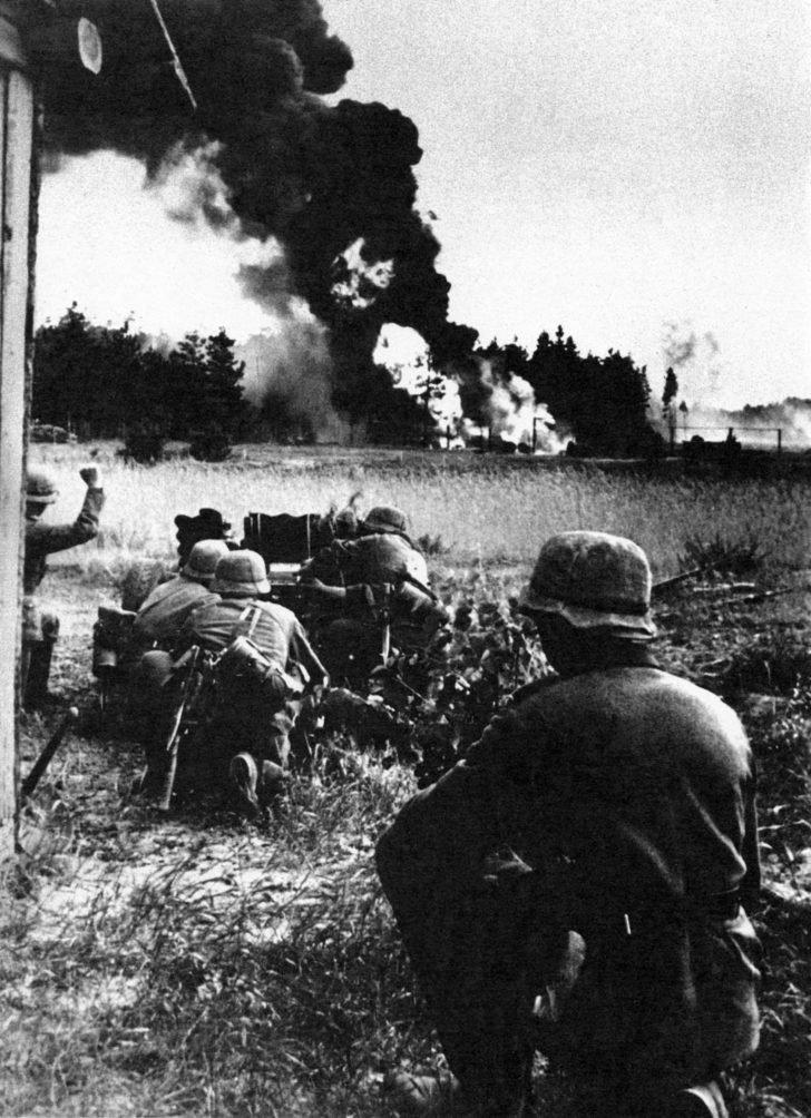 German gunners