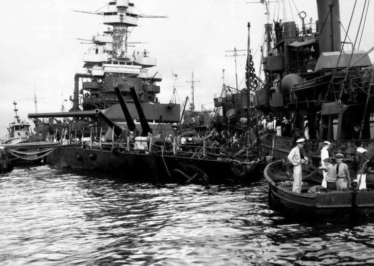 The battleship California