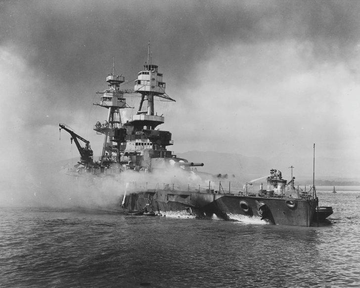 Nevada battleship