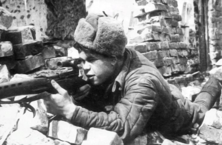 Sniper N. Ilyin