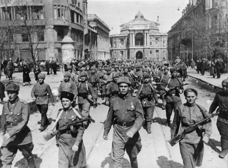 liberated Odessa