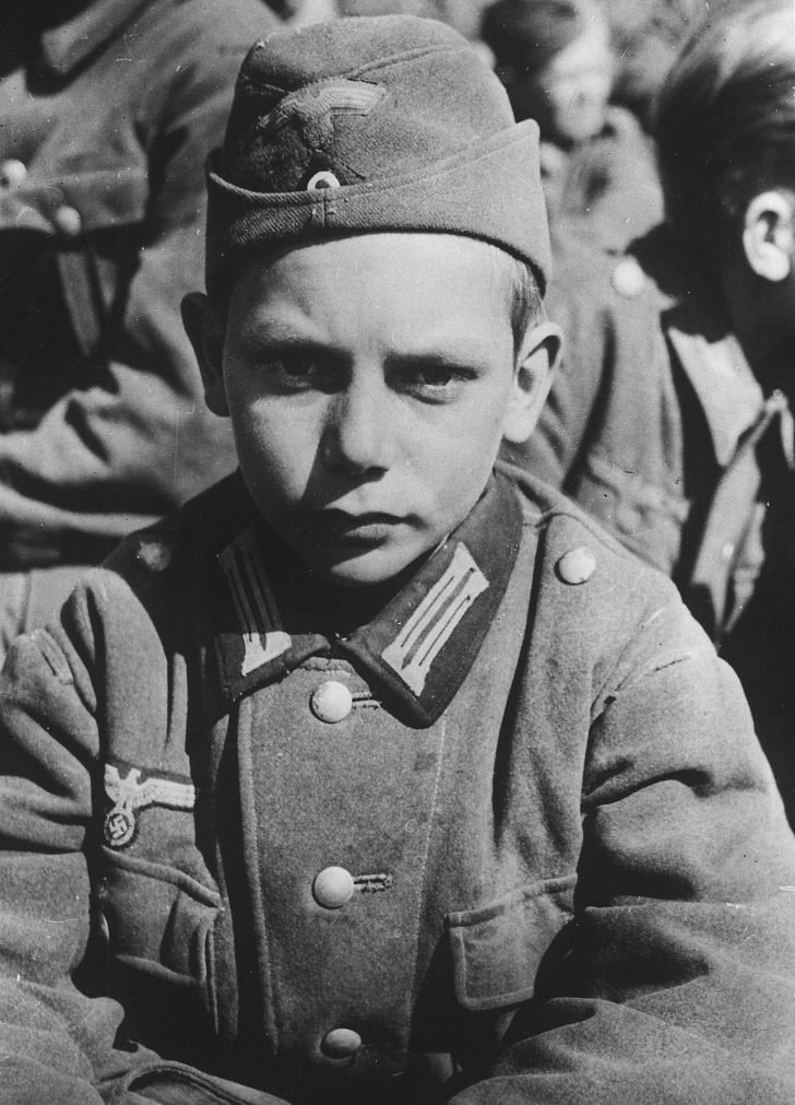 13-year-old German soldier