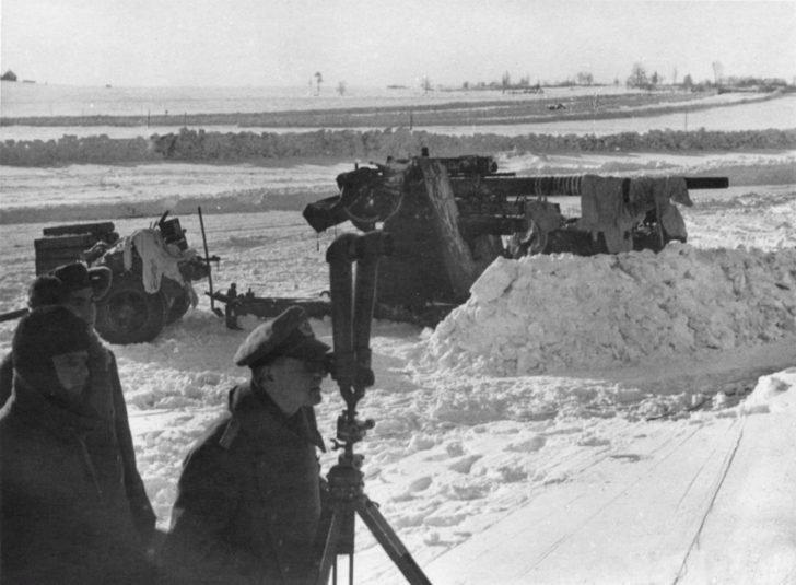 88-mm FlaK 36/37 guns
