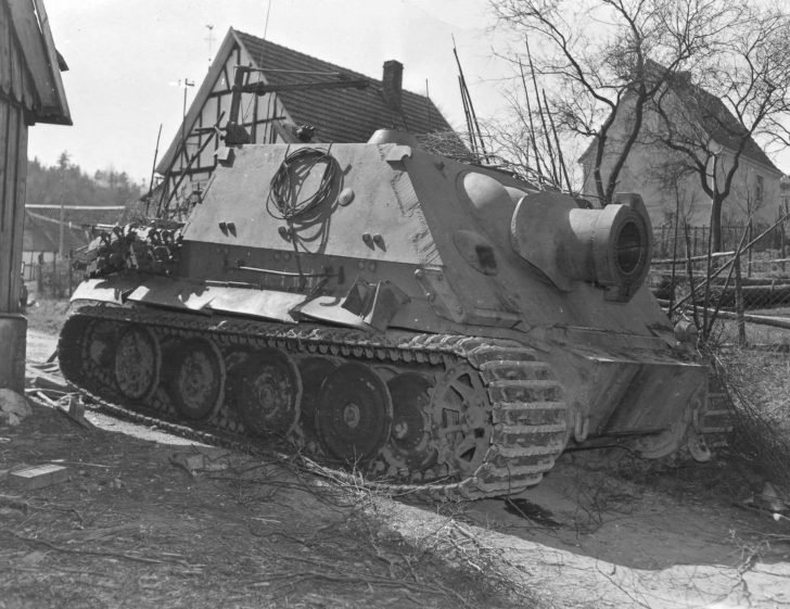 Sturmtiger self-propelled gun,