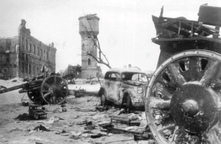 Stalingrad after the fighting
