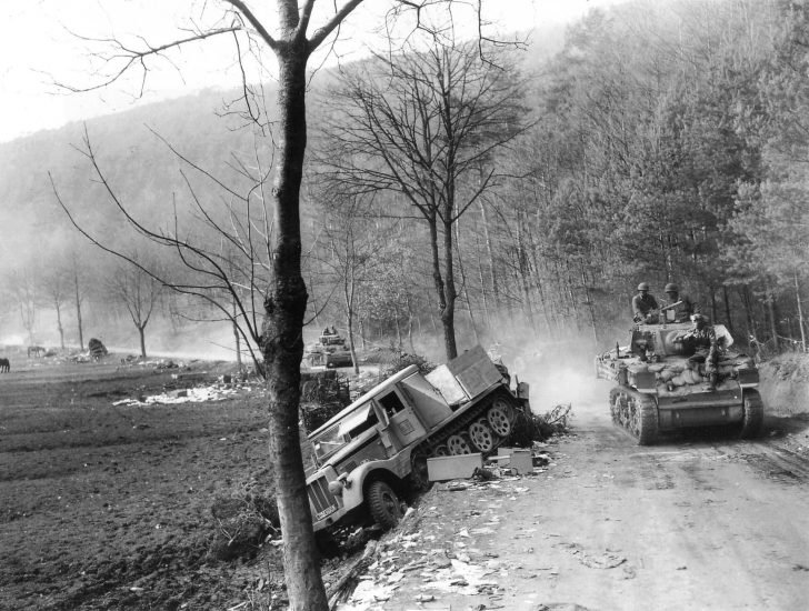 M5 Stuart tanks