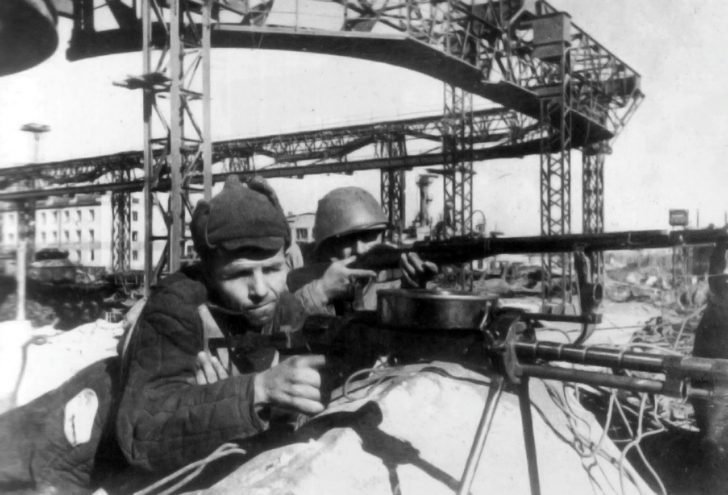 Workers of the Stalingrad Tractor Plant