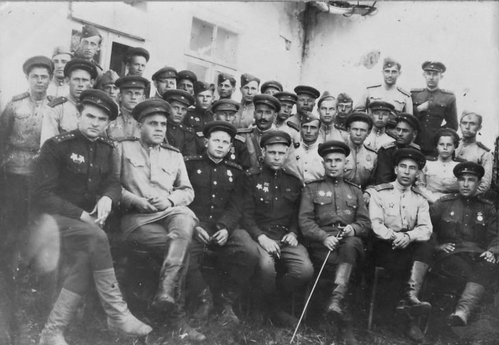 Officers of the 1st Ukrainian front