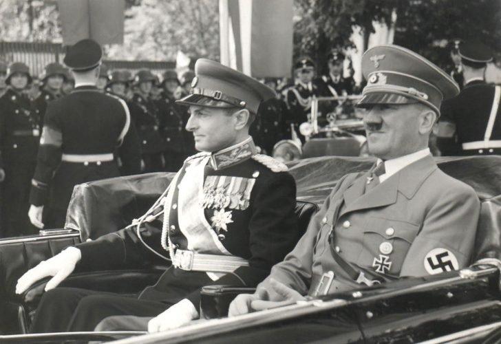 Adolf Hitler, Pavle Karađorđević