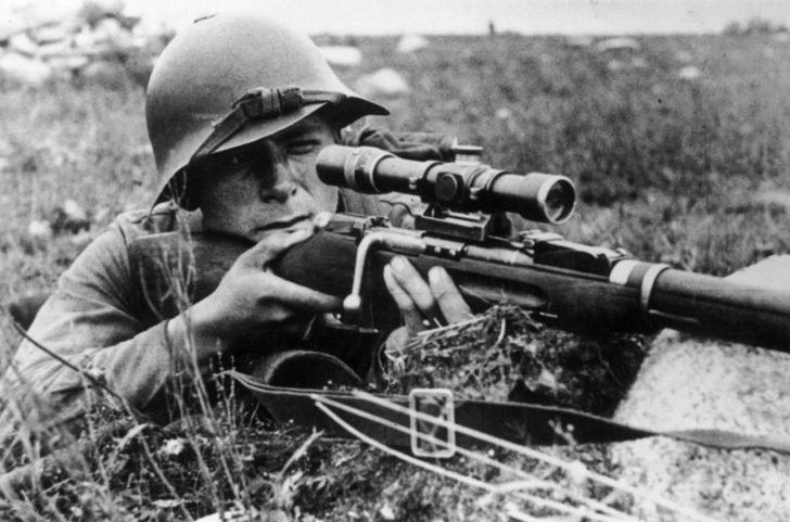 Soviet sniper