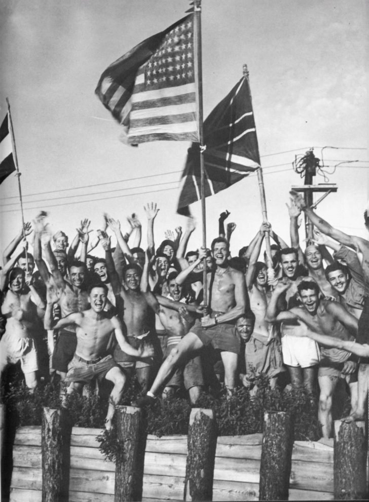 Prisoners of the Japanese POW camp