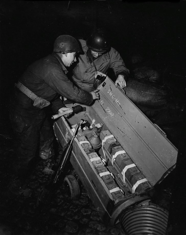 Nazi weapons container