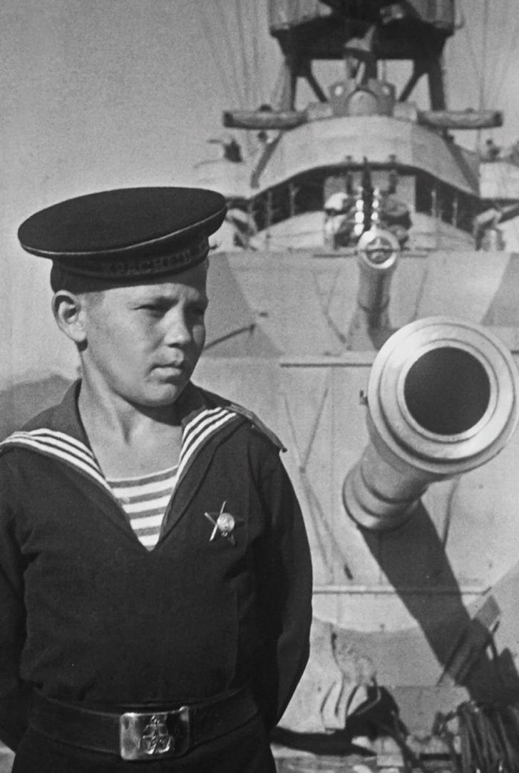 Cabin boy of the Red Caucasus cruiser