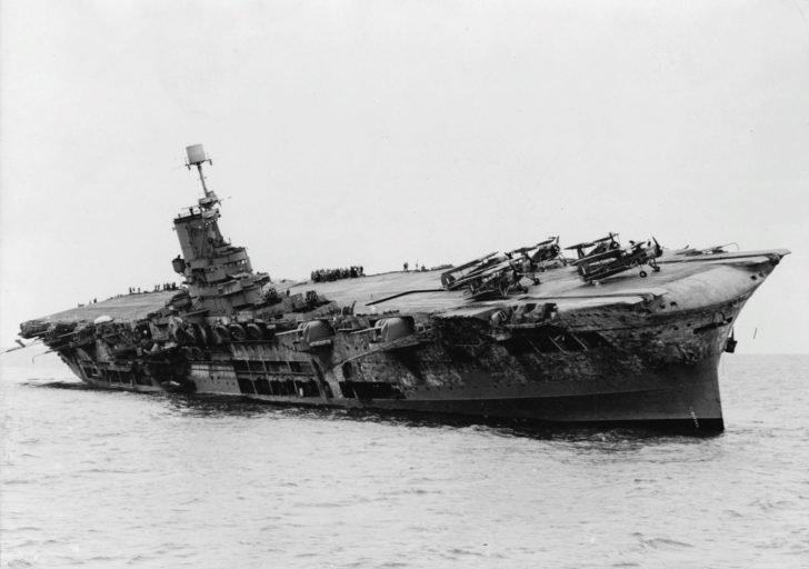 Ark Royal aircraft carrier