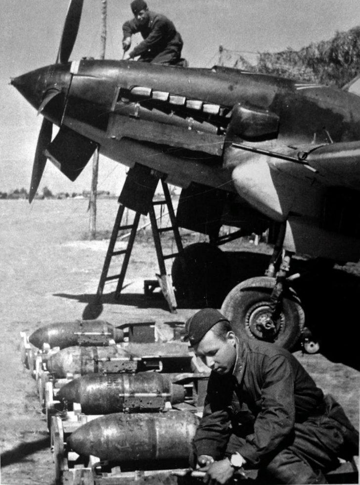 IL-2 attack aircraft