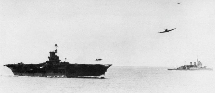 Fairy Fulmar, aircraft carrier Arc Royal