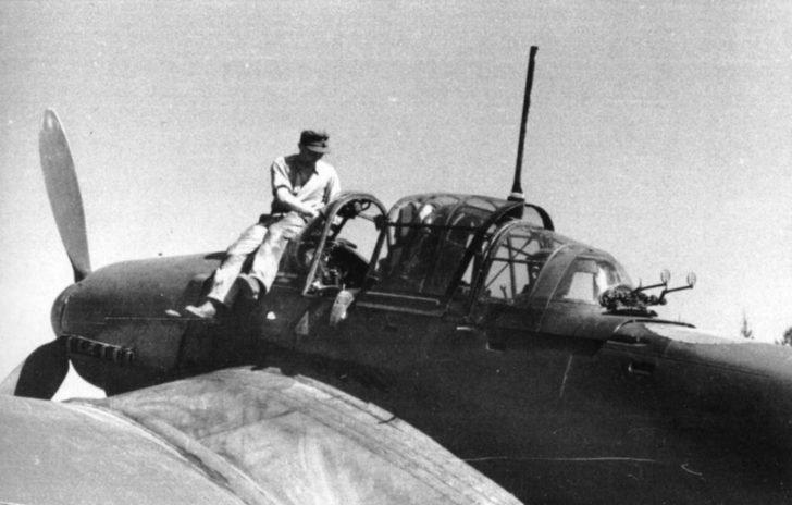 Junkers Ju-87D-5 dive bomber