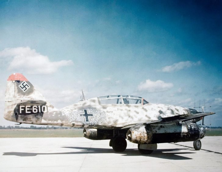 Me.262B-2a fighter