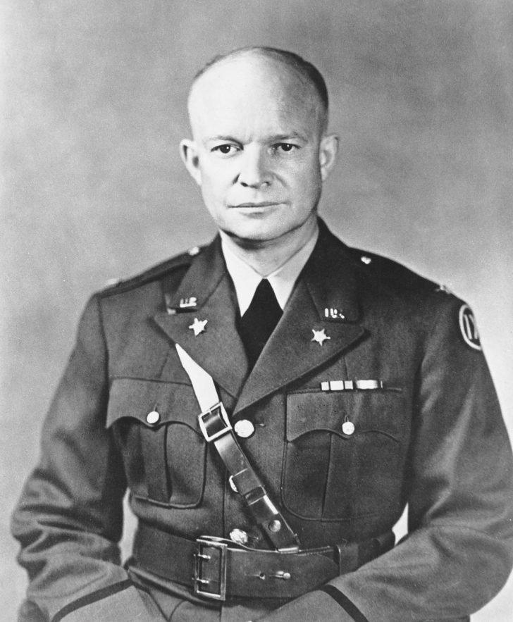 Brigadier General Dwight Eisenhower