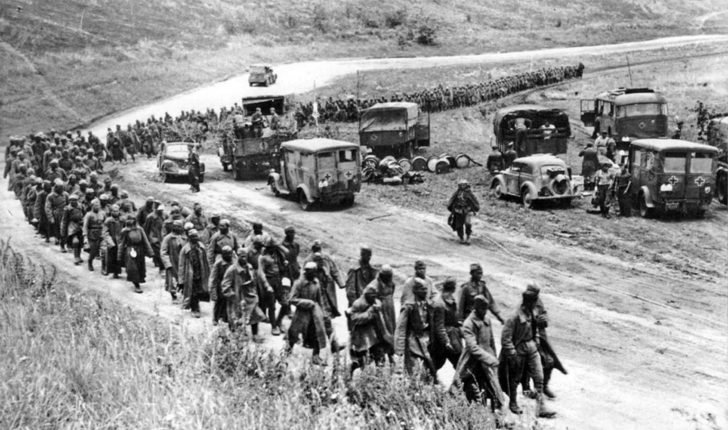 Red Army prisoners of war