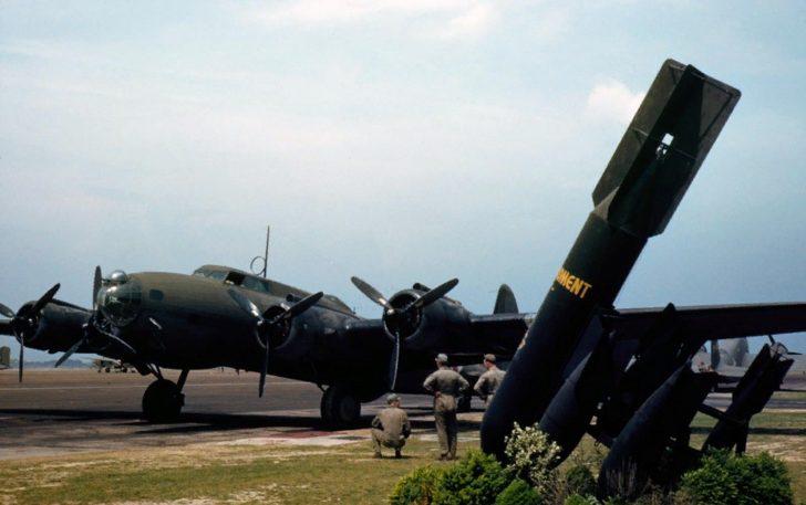 YB-17 Flying Fortress
